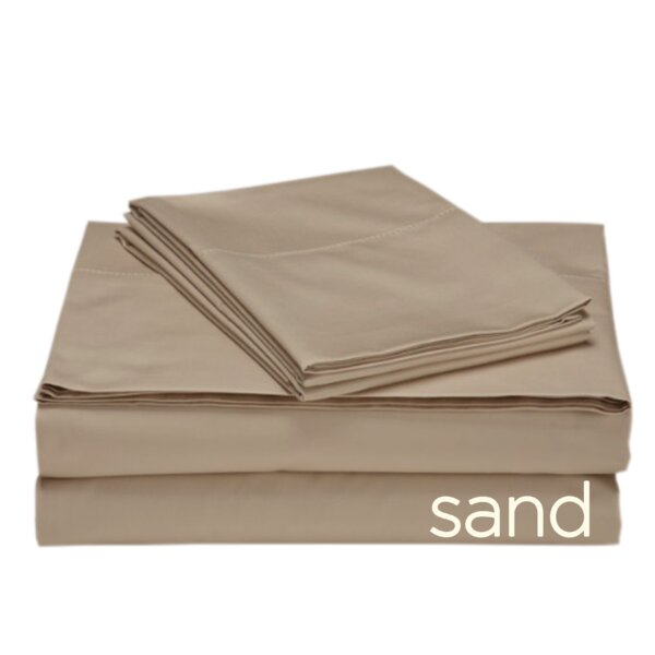 Valerie 618 Thread Count 100% Cotton Sheet Set by Darby Home Co